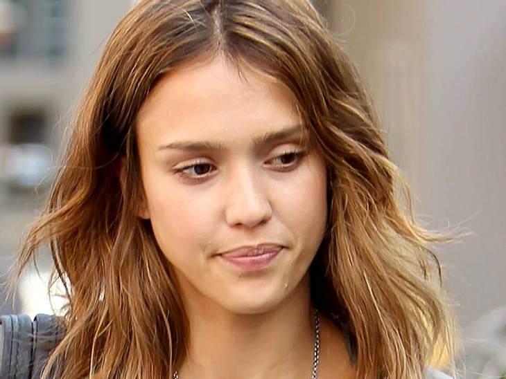 Stars ungeschminkt Jessica Alba ist selbst ungestylt soooo schön.