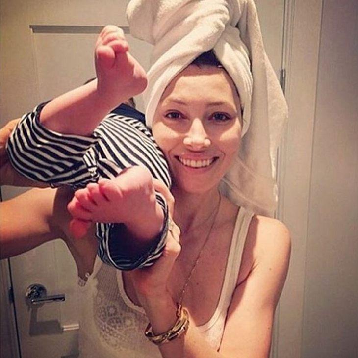 Jessica Biel Baby Silas