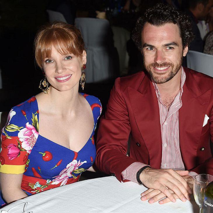 Jessica Chastain und Gian Luca Passi de Preposulo haben geheiratet