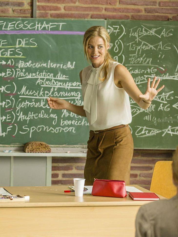 """Jessica Ginkel spielt in der neuen RTL-Serie """"Die Lehrerin"""""""