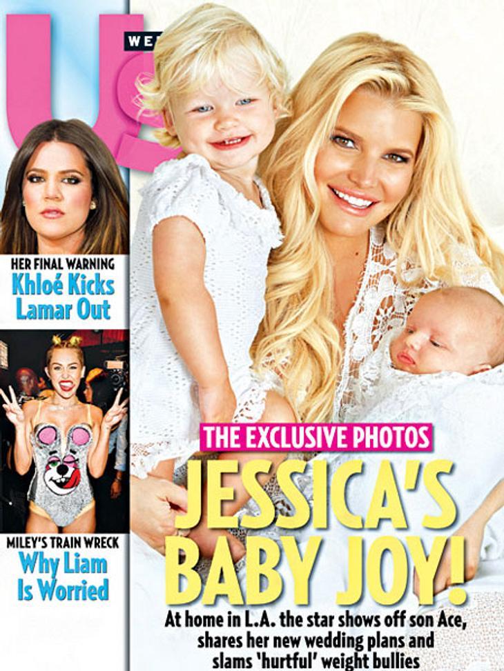 Jessica Simpson zeigt ihre Kinder