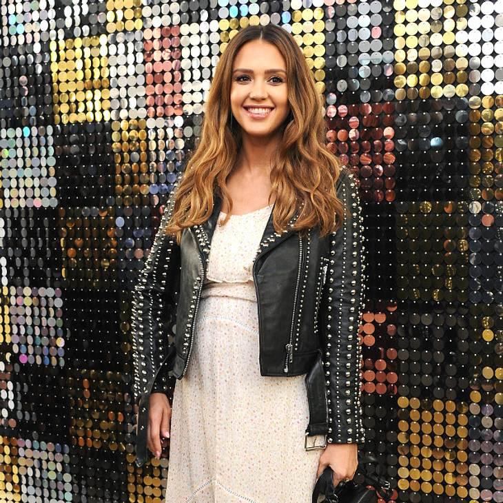 Jessica Alba: So schön schwanger!
