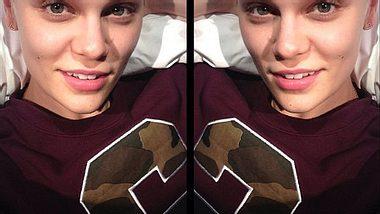 Jessie J ist lieber ungeschminkt