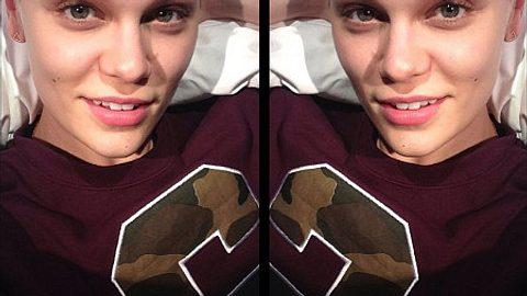 Jessie J zeigt sich ungeschminkt. - Foto: Jessie J / Instagram