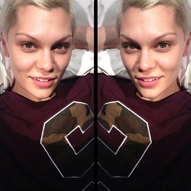 Jessie J zeigt sich ungeschminkt.