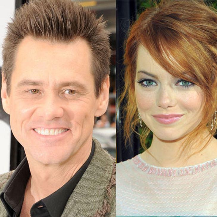 Jim Carrey: Liebesgeständnis an Emma Stone