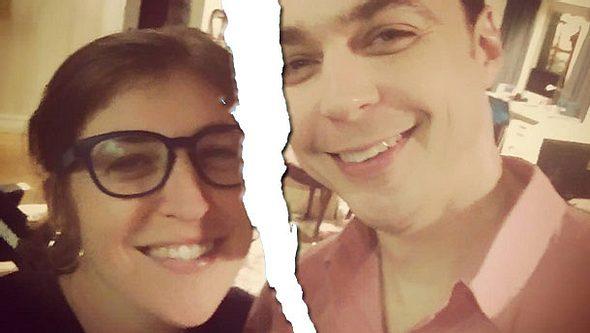Amy und Sheldon in der Krise - Foto: Instagram / Mayim Bialik