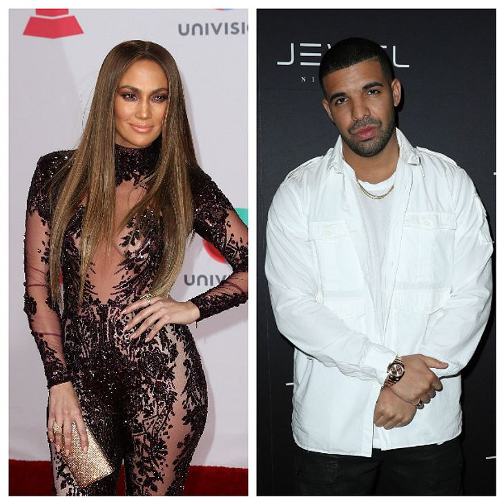 Jennifer Lopez und Drake turteln öffentlich miteinander rum