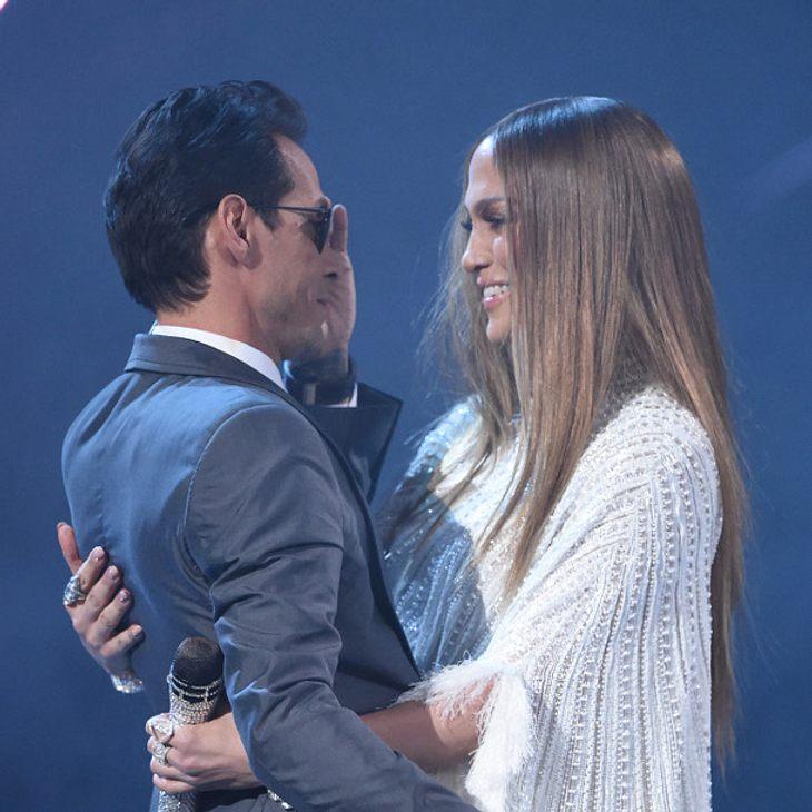 Jennifer Lopez und Marc Anthony tauschen tiefe Blicke aus
