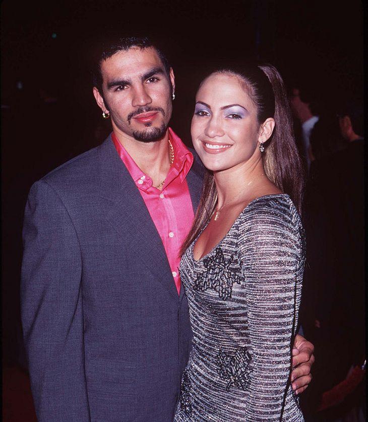 Ojani Noa und Jennifer Lopez im Jahr 1997