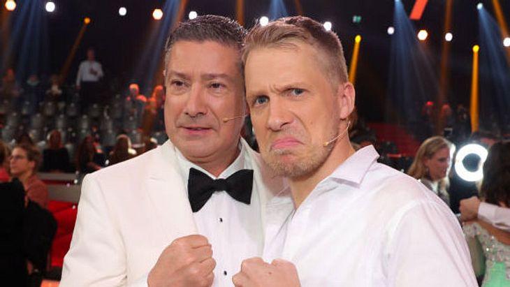 Joachim Llambi und Oliver Pocher