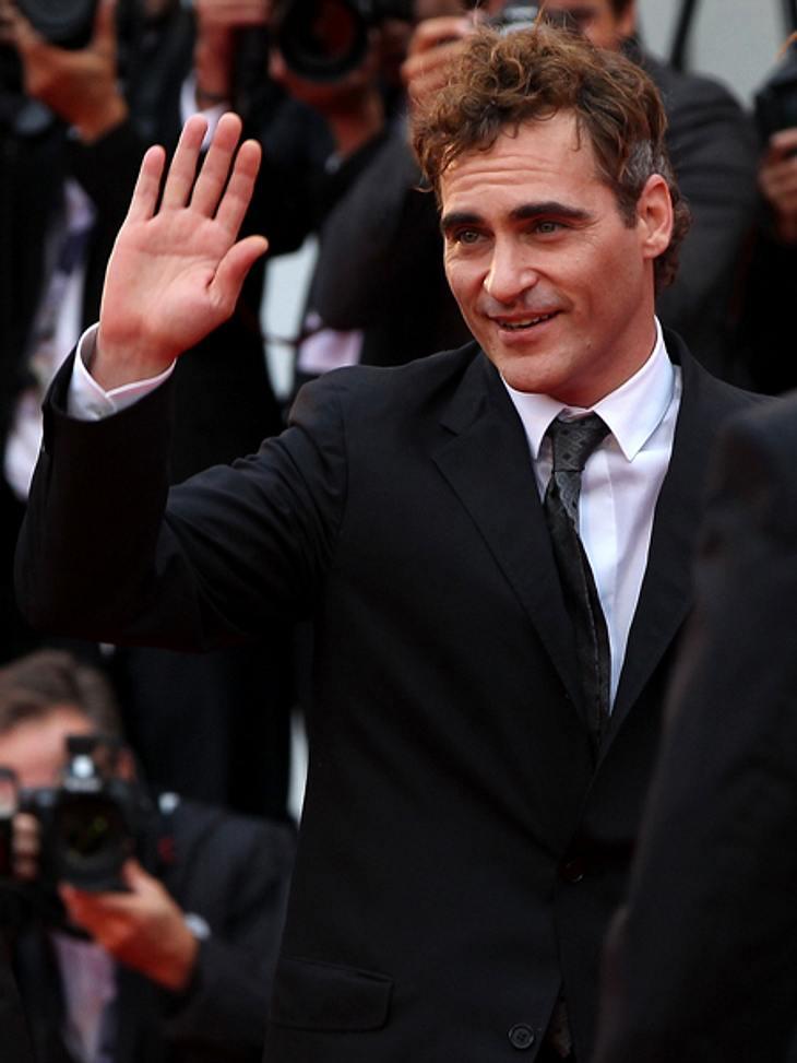 """Die 69. Internationalen Filmfestspiele von VenedigJoaquin Phoenix (37) kam nach Venedig, um seinen Film """"The Master"""" vorzustellen. Darin spielt er einen psychisch labilen Anhänger ..."""
