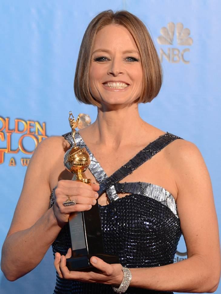 """Jodie Foster erhielt den """"Cecil B. Demille""""-Preis für ihr Lebenswerk."""