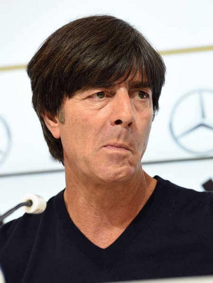 Jogi Löw denkt daran, als Bundestrainer aufzuhören.