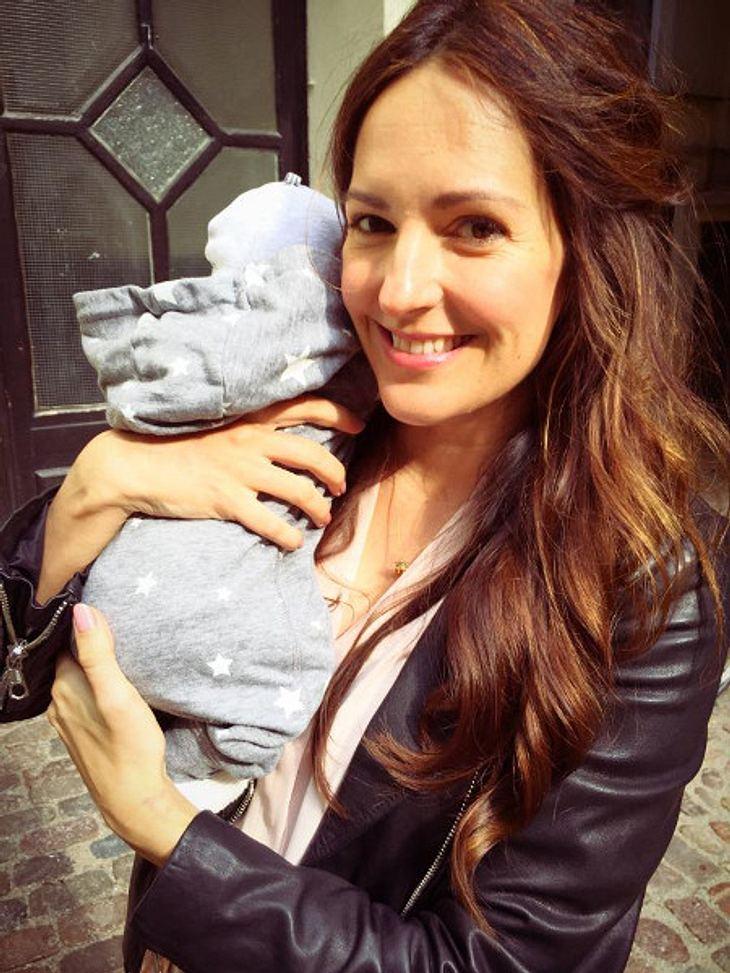 Johanna Klum und ihre Tochter
