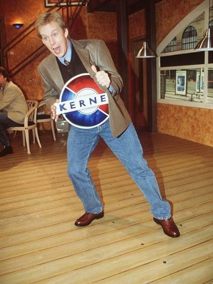 """Die Talkshow-Moderatoren der 90erJohannes B. Kerner kennt jeder als seriösen Talker am Abend. Aber auch er hatte seine eigene Talkshow am Nachmittag. 1996 moderierte er """"Kerner"""" in Sat.1. Bis 2006 war er dann das Gesicht für &quot"""