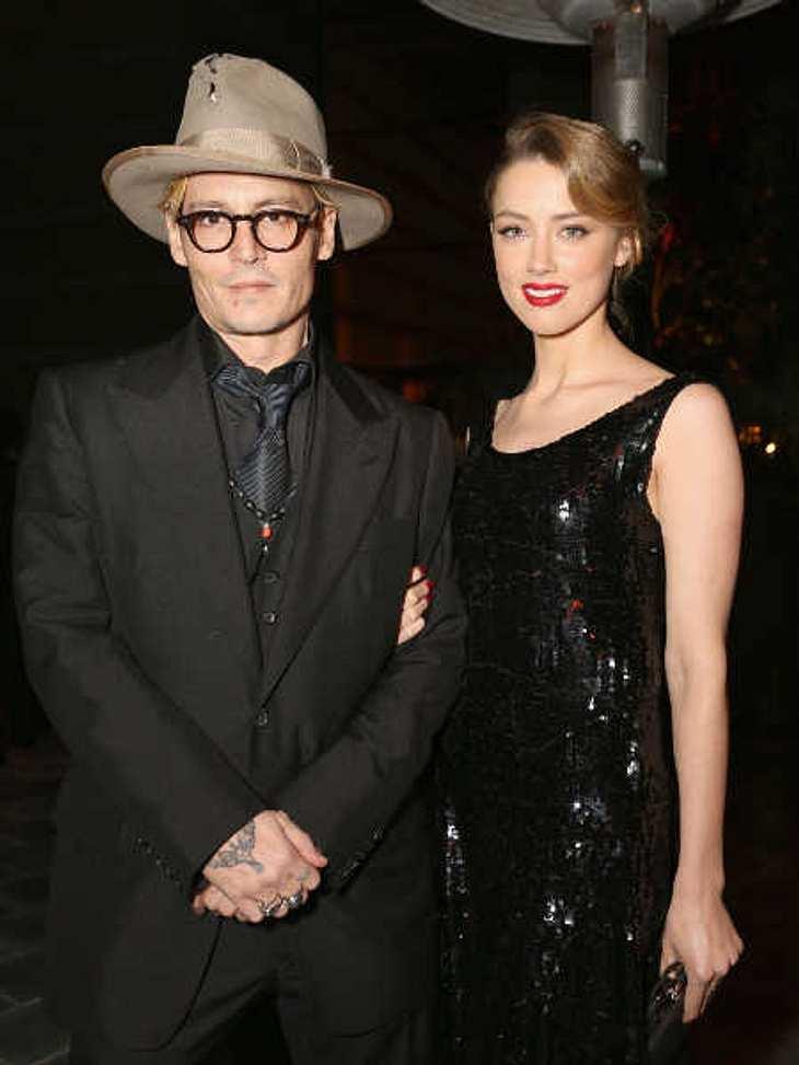 Johnny Depp und Amber Heard sollen verlobt sein.