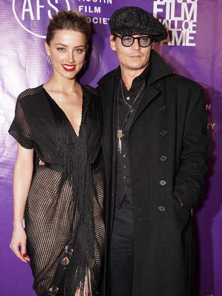 Johnny Depp und Amber Heard: Verlobung bestätigt!