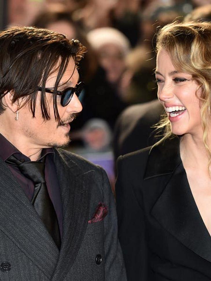 Johnny Depp und Amber Heard haben geheiratet