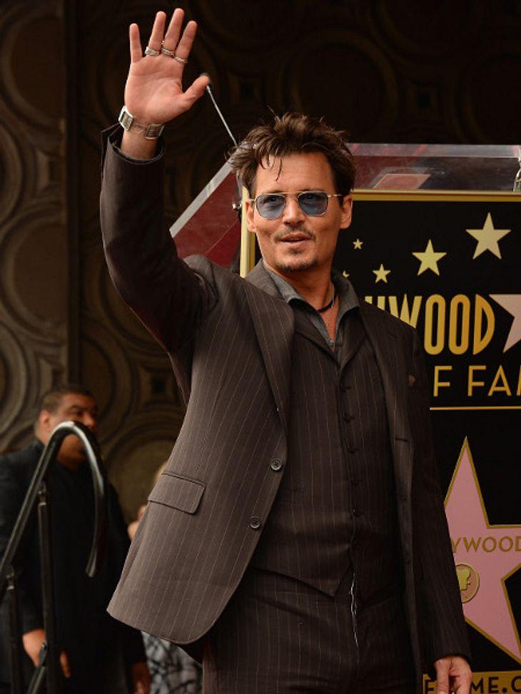 Johnny Depp wird bald nicht mehr auf der Kinoleinwand zu sehen sein.