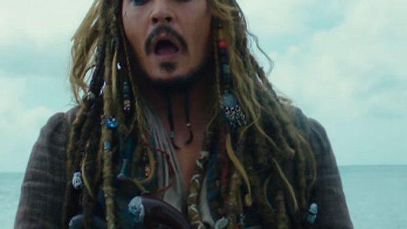 Johnny Depp in Fluch der Karibik 5 - Foto: Disney