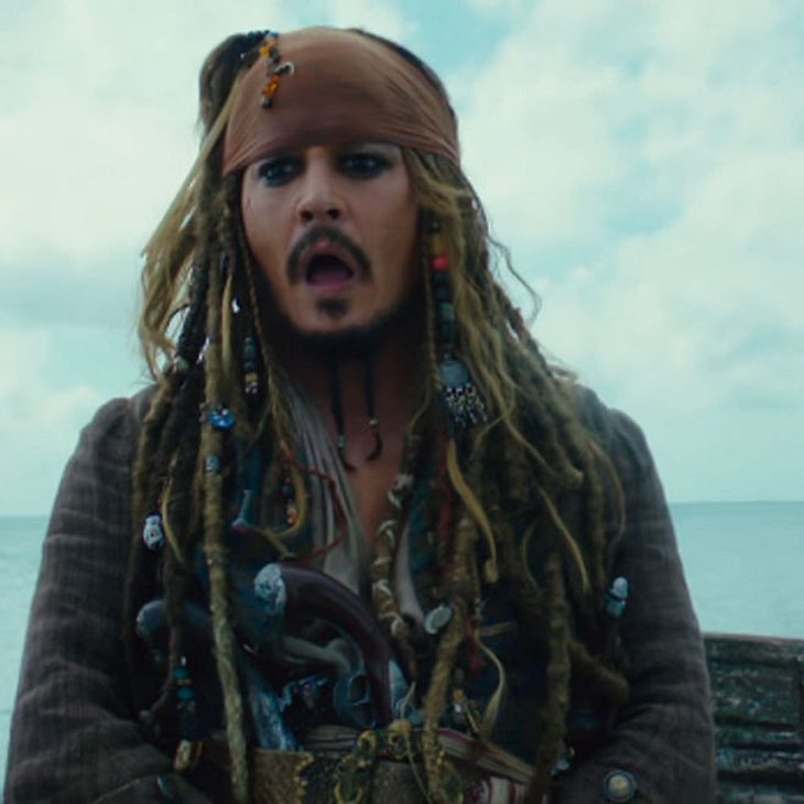 Johnny Depp in Fluch der Karibik 5
