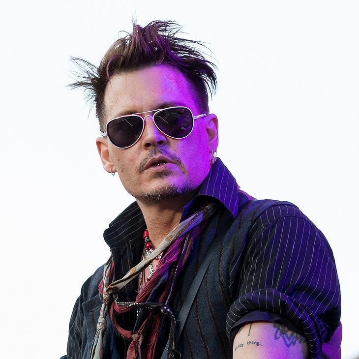 """Johnny Depp hat genug von seinem """"Slim""""-Tattoo"""