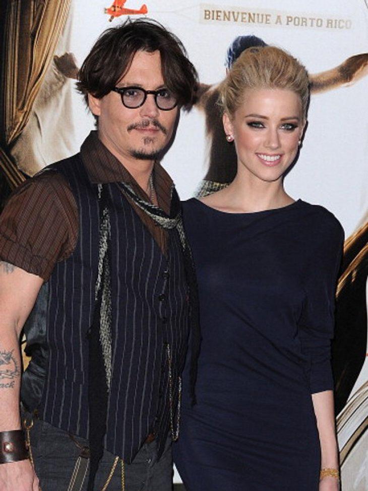Johnny Depp und Amber Heard bekommen Ärger wegen ihrer Hunde.