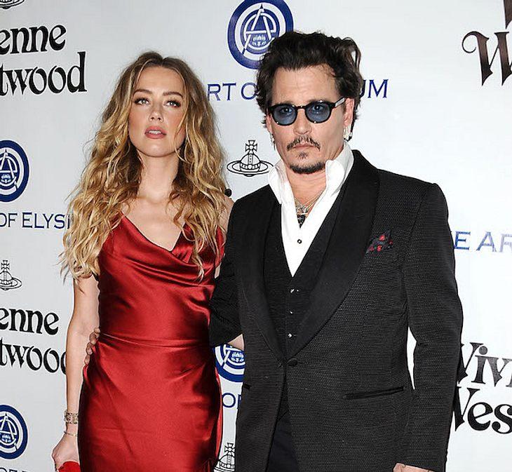 Heimliches Video: Amber Heard filmt Ausraster von Johnny Depp