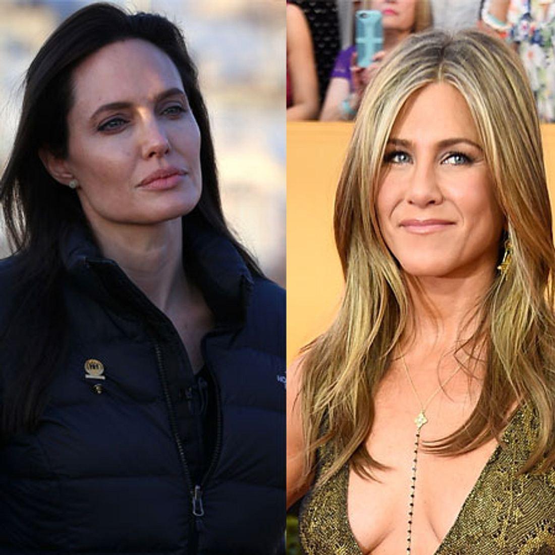Jennifer Aniston schnappt sich den Vater von Angelina Jolie!