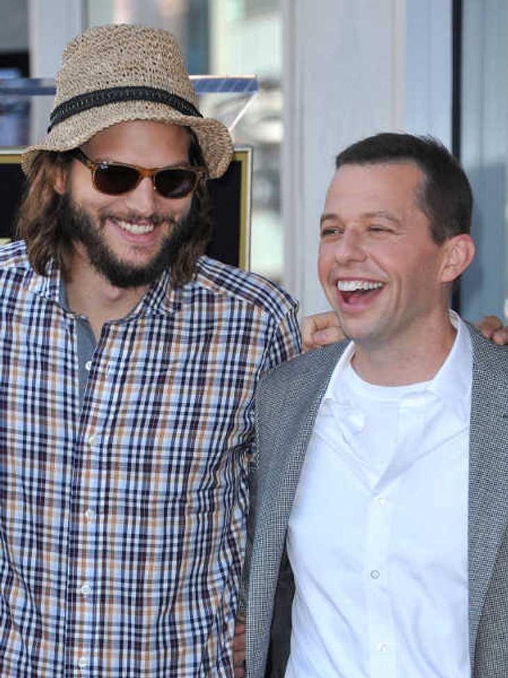 Ashton Kutcher und Jon Cryer haben dieselbe Ex-Freundin.