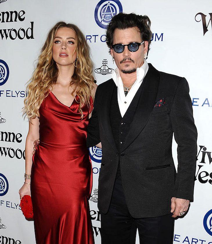 Johnny Depp: Prügel-Vorwürfe von Amber Heard