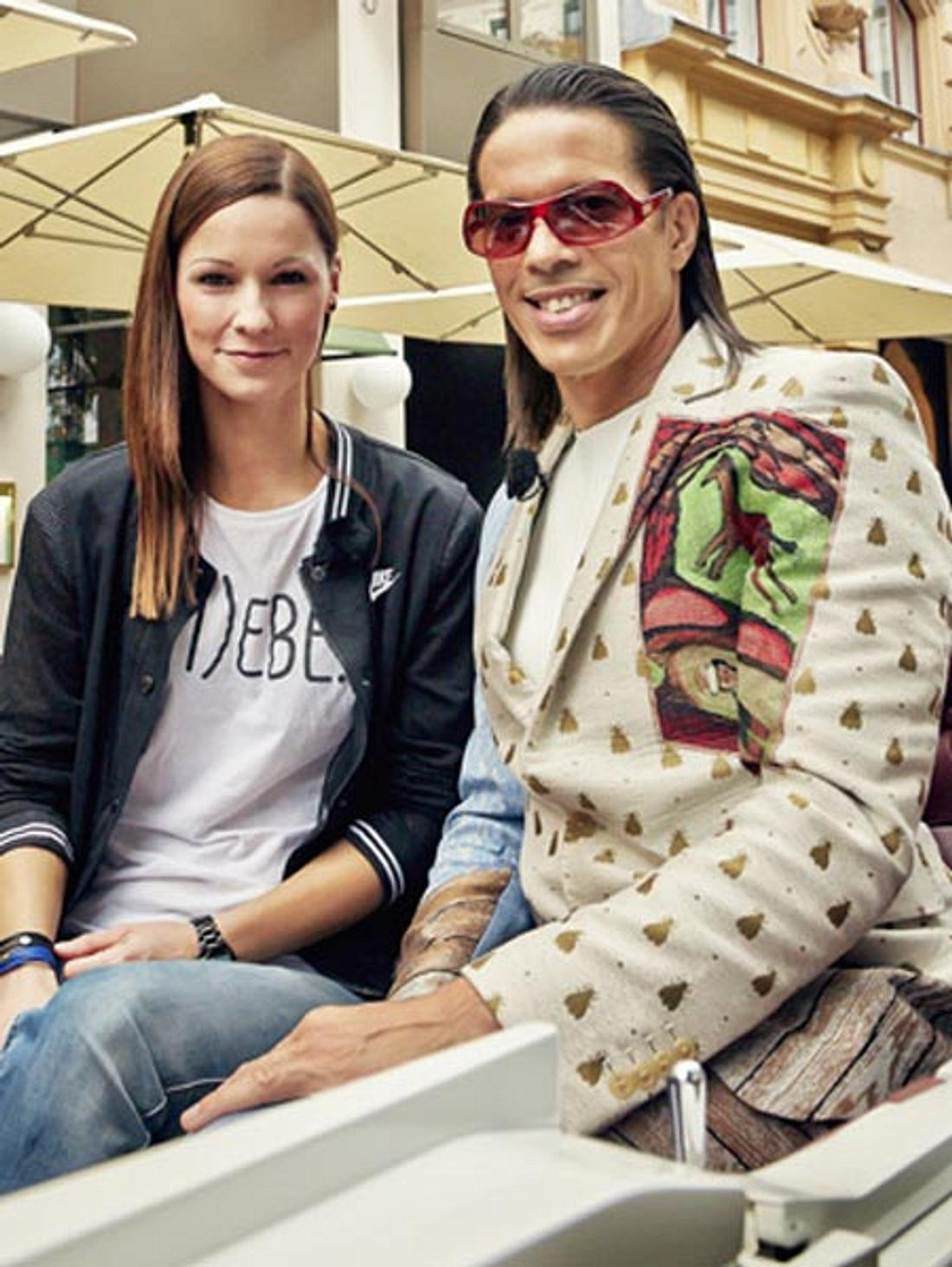 Christina Stürmer und Jorge Gonzalez erkunden Wien