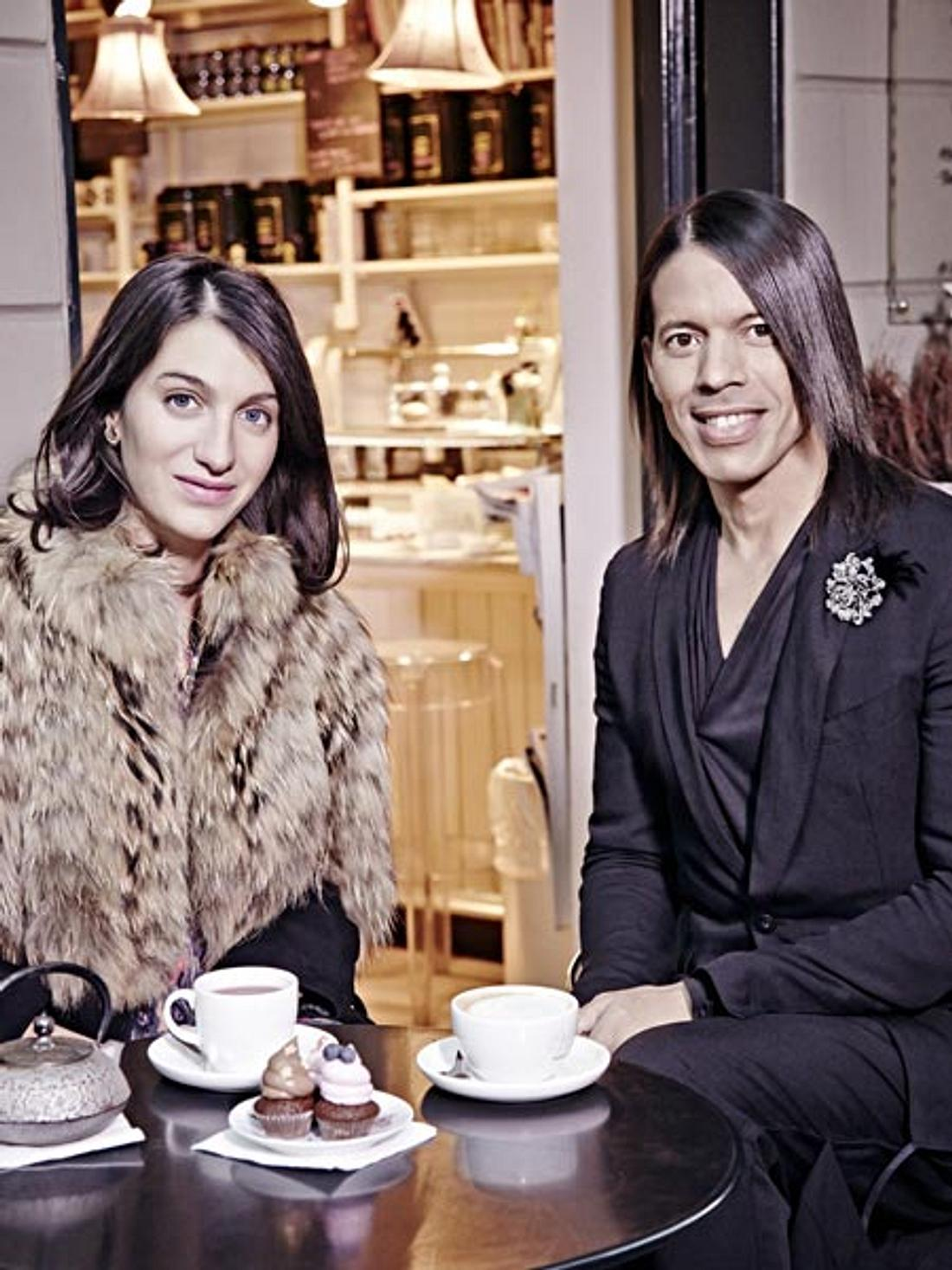 Jorge Gonzalez trifft Marta Ferri in Mailand