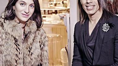 Jorge Gonzalez trifft Marta Ferri in Mailand - Foto: Gert Krautbauer für E! Entertainment