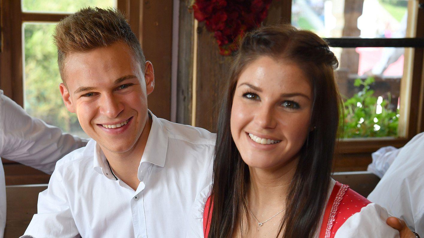 Joshua Kimmich und Freundin Lina Meyer
