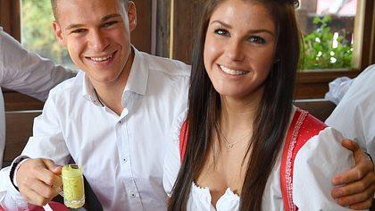 Sind der Fußballer und Lina Meyer noch ein Paar?