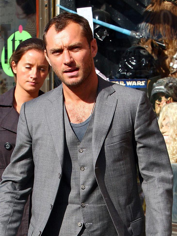 Jude Law wollte die Mutter seines vierten Kindes geheimhalten, jetzt hat sie sich selbst zu Wort gemeldet!