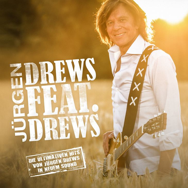 "Jürgen Drews auf dem Album-Cover von ""Drews feat. Drews - Die ultimativen Hits von Jürgen Drews"""