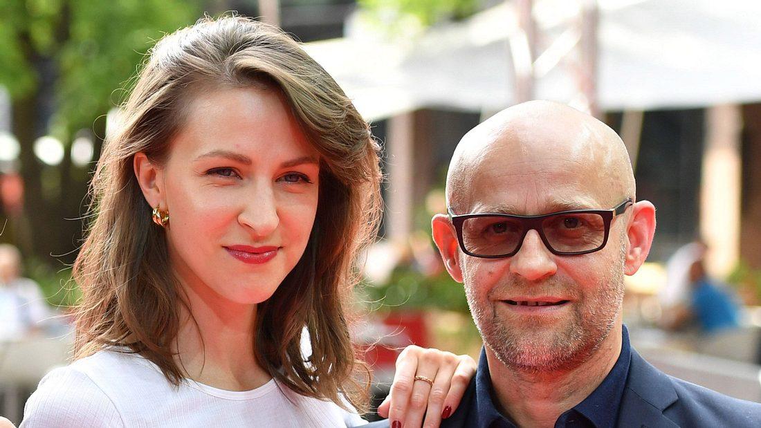 Natalia Belitski und Jürgen Vogel beim Filmfest 2019