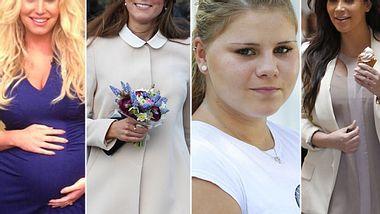 Jessica, Kim & Co. werden im Juli Mutter - Foto: WENN