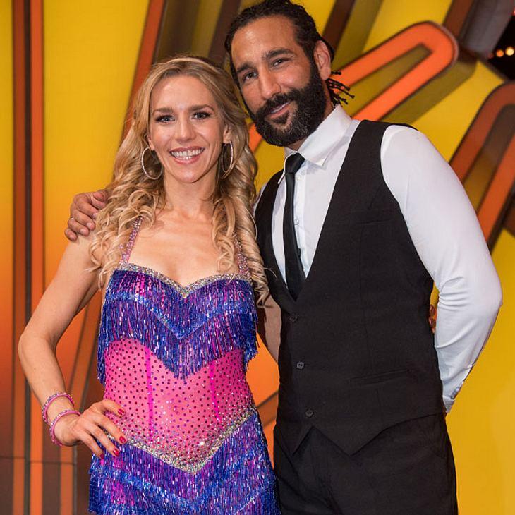 Let's Dance-Star Julia Dietze: Unfall-Drama