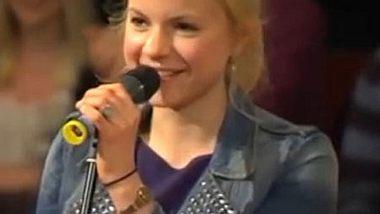 Julia Engelmann legte einen grandiosen Auftritt beim 5. Bielefelder Hörsaal-Slam hin. - Foto: Campus TV Bielefeld