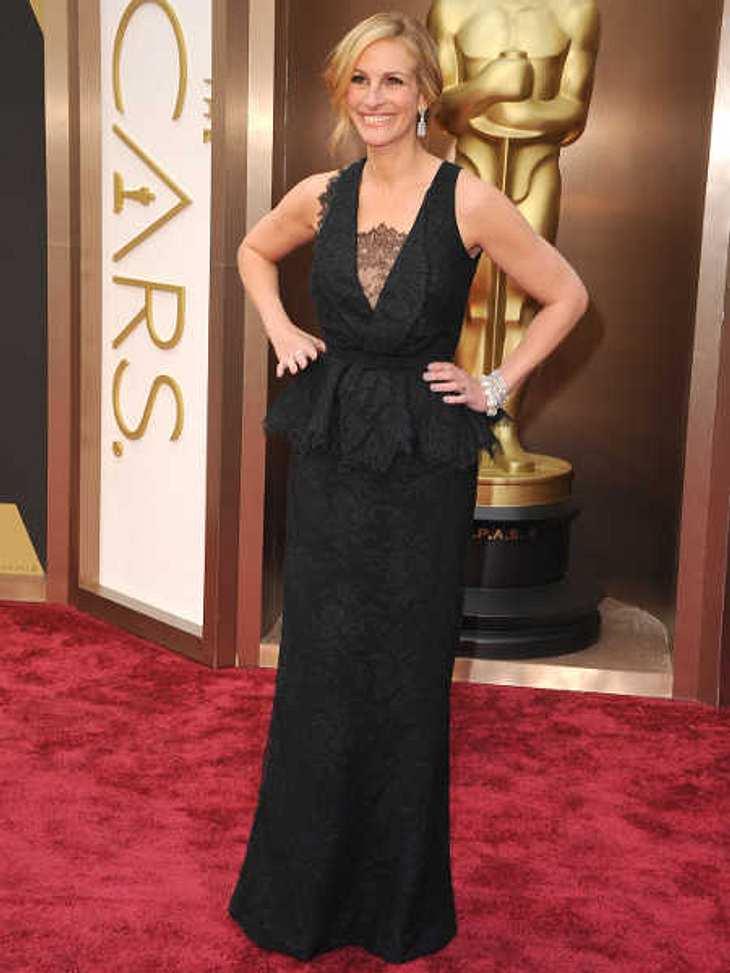Bei den Oscars zeigte sich Julia Roberts nach dem Suizid ihrer Schwester zum ersten Mal in der Öffentlichkeit.