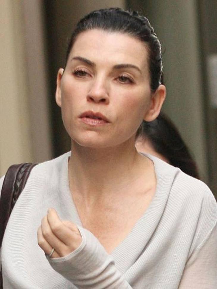 Stars ungeschminkt: Julianna MarguliesRespekt! Julianna Margulies (46) versprüht auch ohne künstliche Nachhilfe Glamour.