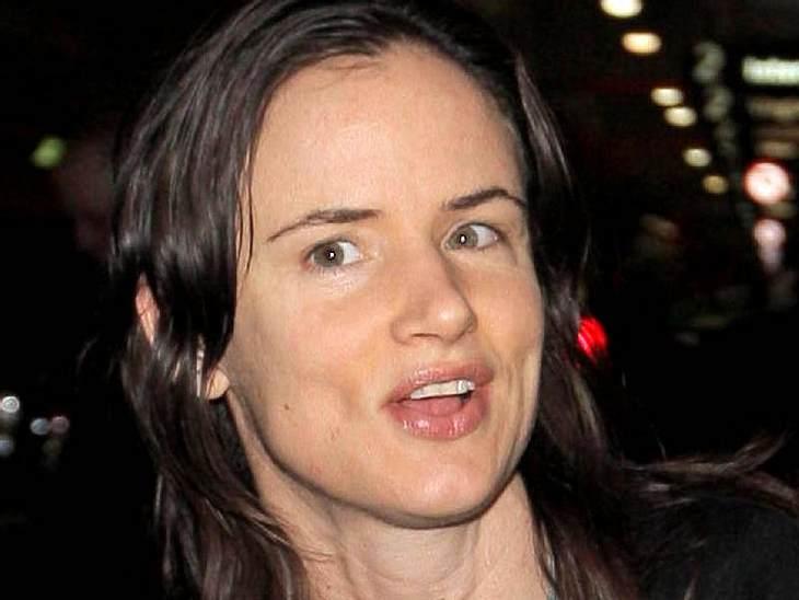 Stars ungeschminktSchauspielerin und Sängerin Juliette Lewis ungeschminkt - ist gewöhnungsbedürftig.
