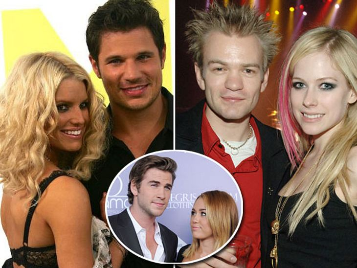 """Früh geheiratet, früh geschieden: Hollywoods jüngste BräuteSooo jung und sooo verliebt! Die 19-Jährige Miley Cyrus kann es kaum abwarten, ihrem Verlobten Liam Hemsworth (22) endlich das Ja-Wort zu geben. Und die """"LOL""""-Darstellerin"""
