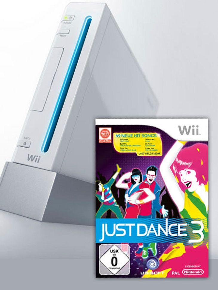 Wir verlosen Wii-Konsolen und Just Dance 3 Spiele