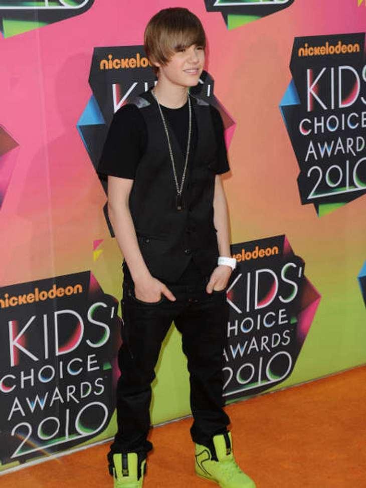 """Justin Bieber - Seine schönsten Momente: März 2010,Bei den """"Kids' Choice Awards"""" im März 2010 war Justin Bieber in der Kategorie """"Lieblingsmusiker"""" nominiert. Er hat den Preis leider nicht gewonnen, stattdessen """"Tok"""
