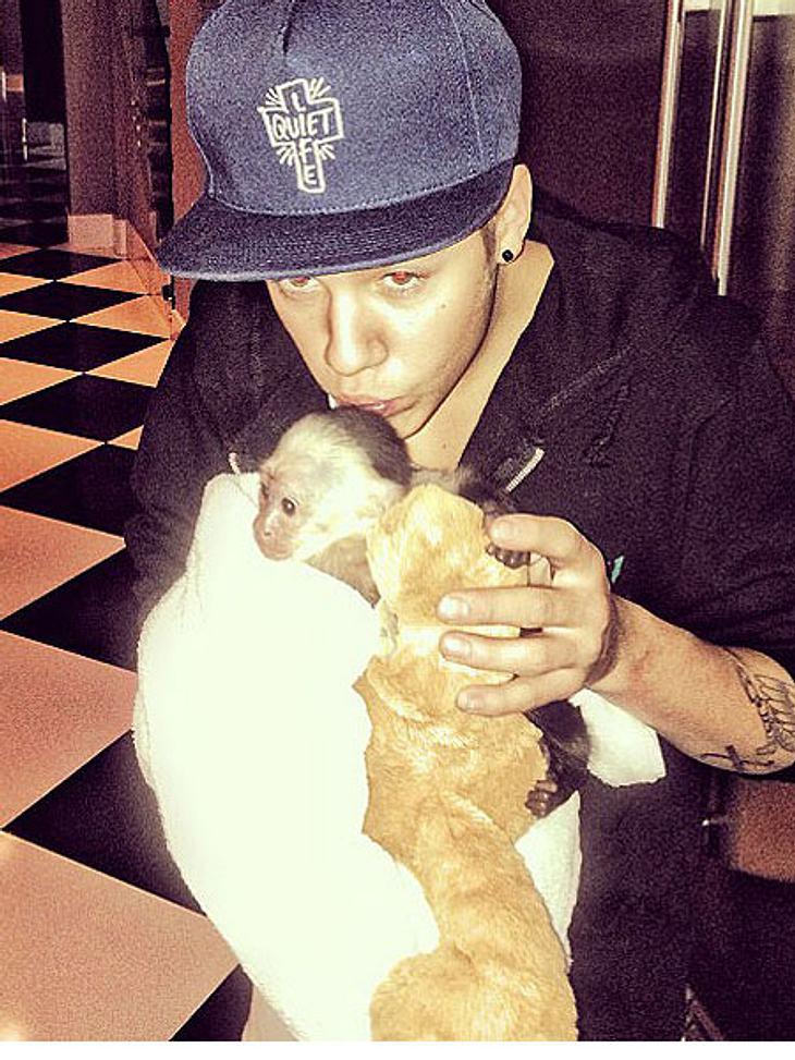 Justin Bieber möchte seinen Affen zurück